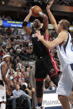 Miami Heat v Dallas Mavericks: Chris Bosh Photographic Print by Bill Baptist