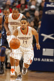 Denver Nuggets v Charlotte Bobcats: D.J. Augustin Photographic Print by Kent Smith