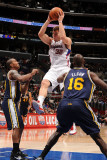 Utah Jazz v Los Angeles Clippers: Blake Griffin, Raja Bell and Francisco Elson Photographic Print by Noah Graham
