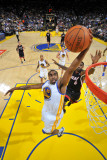 Miami Heat v Golden State Warriors: Reggie Williams Photographic Print by Rocky Widner