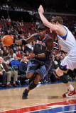 Charlotte Bobcats v Philadelphia 76ers: Stephen Jackson Photographic Print by Jesse D. Garrabrant