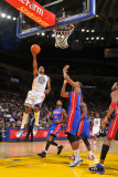 Detroit Pistons v Golden State Warriors: Rodney Carney Photographic Print by Rocky Widner