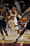 Memphis Grizzlies v Cleveland Cavaliers: Mo Williams and Mike Conley Photographic Print by David Liam Kyle