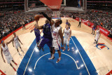 Sacramento Kings v Los Angeles Clippers: Carl Landry and Rasual Butler Photographic Print by Noah Graham