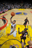 Miami Heat v Golden State Warriors: Monta Ellis Photographic Print by Rocky Widner