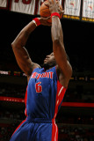 Detroit Pistons v Miami Heat: Ben Wallace Photographic Print by Issac Baldizon