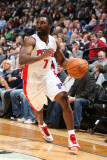 Detroit Pistons v Minnesota Timberwolves: Ben Gordon Photographic Print by David Sherman