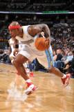 Milwaukee Bucks v Denver Nuggets: Al Harrington Photographic Print by Garrett Ellwood