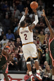 Milwaukee Bucks v Cleveland Cavaliers: Mo Williams Photographic Print by David Liam Kyle