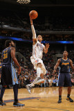 Denver Nuggets v Charlotte Bobcats: D.J. Augustin Photographic Print by Brock Williams-Smith