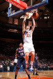 Atlanta Hawks v New York Knicks: Timofey Mozgov and Al Horford Photographic Print by Nathaniel S. Butler