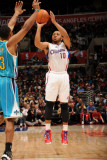 New Orleans Hornets v Los Angeles Clippers: Eric Gordon Photographic Print by Andrew Bernstein