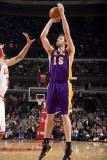 Los Angeles Lakers v Chicago Bulls: Pau Gasol and Ronnie Brewer Photographic Print by Andrew Bernstein