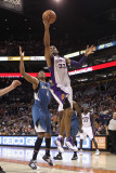 Minnesota Timberwolves v Phoenix Suns: Grant Hill and Wesley Johnson Photographic Print by Christian Petersen