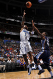 Memphis Grizzlies v Orlando Magic: Quentin Richardson and O.J. Mayo Photographic Print by Fernando Medina