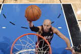 Miami Heat v Orlando Magic: Zydrunas Ilgauskas Photographic Print by Fernando Medina