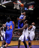 New York Knicks v Sacramento Kings: Amare Stoudemire Photographic Print by Rocky Widner