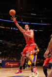 Chicago Bulls v Los Angeles Lakers: Joakim Noah Photographic Print by Noah Graham