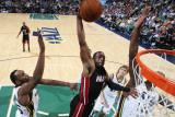 Miami Heat v Utah Jazz: Dwyane Wade Photographic Print by Melissa Majchrzak