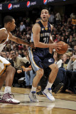Memphis Grizzlies v Cleveland Cavaliers: Greivis Vasquez and Ramon Sessions Photographic Print by David Liam Kyle