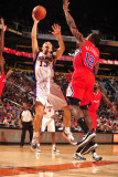 Los Angeles Clippers v Phoenix Suns: Steve Nash and Eric Bledsoe Photographic Print by Barry Gossage