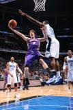Phoenix Suns v Orlando Magic: Goran Dragic and Brandon Bass Photographic Print by Andrew Bernstein