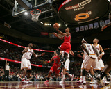 Chicago Bulls v Cleveland Cavaliers: Derrick Rose, Antawn Jamison and Daniel Gibson Photographic Print by David Liam Kyle