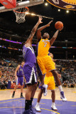 Sacramento Kings v Los Angeles Lakers: Lamar Odom Photographic Print by Noah Graham