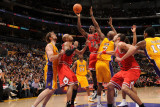 Chicago Bulls v Los Angeles Lakers: Ronnie Brewer Photographic Print by Andrew Bernstein