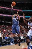 Charlotte Bobcats v Philadelphia 76ers: D.J. Augustin Photographic Print by Jesse D. Garrabrant