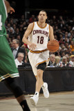 Boston Celtics v Cleveland Cavaliers: Anthony Parker Fotografisk tryk af David Liam Kyle