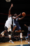 Memphis Grizzlies v Washington Wizards: Tony Allen and Andray Blatche Photographic Print by Ned Dishman