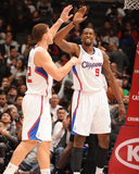 San Antonio Spurs v Los Angeles Clippers: Blake Griffin and DeAndre Jordan Photographic Print by Andrew Bernstein