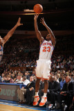 Charlotte Bobcats v New York Knicks: Tony Douglas and Tyrus Thomas Photographic Print by Nathaniel S. Butler