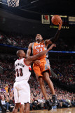 Phoenix Suns v Portland Trail Blazers: Dante Cunningham and Grant Hill Photographic Print by Sam Forencich