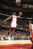 Miami Heat v Cleveland Cavaliers: LeBron James Photographic Print by Nathaniel S. Butler