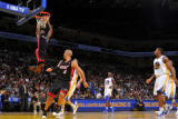 Miami Heat v Golden State Warriors: Lebron James Photographic Print by Rocky Widner