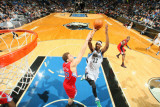 Los Angeles Clippers v Minnesota Timberwolves: Blake Griffin and Corey Brewer Photographic Print by David Sherman
