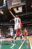 New Jersey Nets v Utah Jazz: Deron Williams and Stephen Graham Photographic Print by Melissa Majchrzak