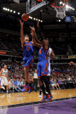 New York Knicks v Sacramento Kings: Danilo Gallinari Photographic Print by Rocky Widner