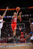 New Jersey Nets v Philadelphia 76ers: Devin Harris Photographic Print by Jesse D. Garrabrant