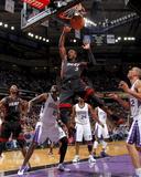 Miami Heat v Sacramento Kings: Dwayne Wade Fotografisk trykk av Rocky Widner