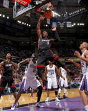 Miami Heat v Sacramento Kings: Dwayne Wade Photographic Print by Rocky Widner