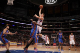New York Knicks v Los Angeles Clippers: Blake Griffin and Ronny Turiaf Photographic Print by Noah Graham