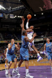 Washington Wizards v Sacramento Kings: Jason Thompson and Trevor Booker Photographic Print by Rocky Widner
