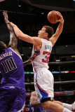 Sacramento Kings v Los Angeles Clippers: Blake Griffin and Samuel Dalembert Photographic Print by Noah Graham
