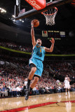 New Orleans Hornets v Portland Trail Blazers: Marco Belinelli Photographic Print by Sam Forencich