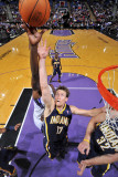 Indiana Pacers v Sacramento Kings: Mike Dunleavy Photographic Print by Rocky Widner