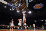 Boston Celtics v New York Knicks: Wilson Chandler Photographic Print by Lou Capozzola
