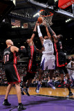 Miami Heat v Sacramento Kings: Jason Thompson Photographic Print by Rocky Widner